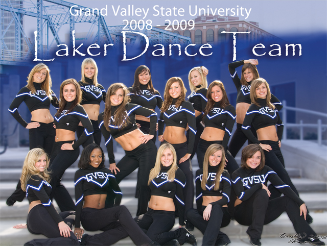 2008 - 2009 Laker Dance Team